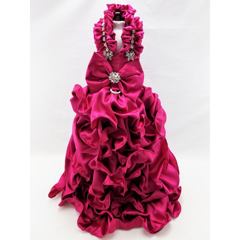 Curls and Swirls Ball Gown